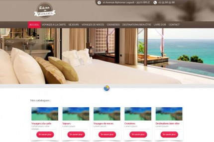 Rédacteur Web pour Rêves de voyage