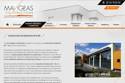Rédacteur Web pour Mangeas constructions